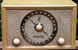 1958 Zenith Radio