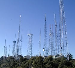 Mount Wilson Antenna Farm today
