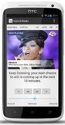 Hybid Radio App