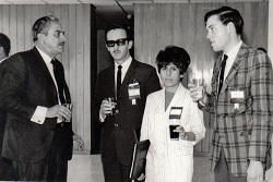 A young David Gleason, far right