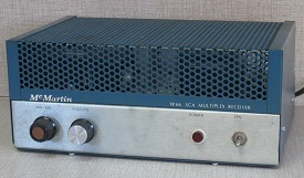McMartin TR-66 FM-SCA receiver
