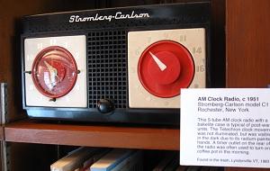 Stromberg-Carlson clock radio