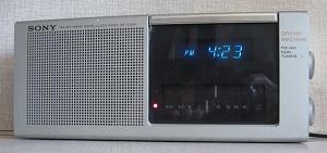 Sony clock radio