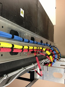 Neat Livewire cabling, Dougall Media, Thunder Bay, Ontario