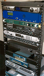 K-HOWL transmitter rack with Omnia ONE and Z/IP ONE.
