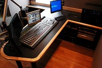 Element consoles include Telos Console Controller module for Nx12 phone system.