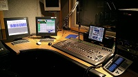 One of 35 studios in RFA's DC headquarters prominently displays an Element and Telos VX VSet12.