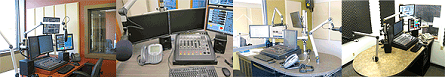 Golden West studios (L-R): Drumheller, AB; Humboldt, SK; Kenora, ON; and Weyburn, SK.