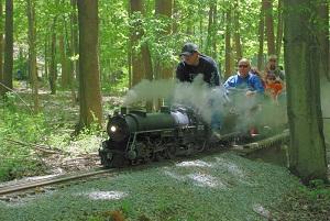 Foti rides the rails.