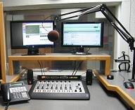 McAlester Radio's Axia studio