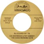 Lee Sherwood & Pat Cassidy - Blizzard of '79 - WMAQ