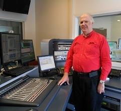 WBUF Chief Engineer Bill Stachowiak