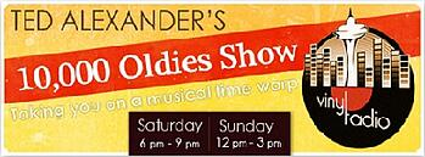 Ted Alexander's 10,000 Oldies Show