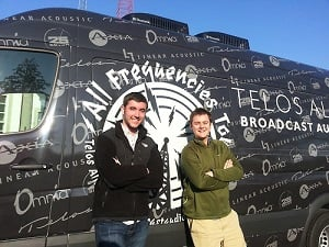 Broadcast Audio Fanatics Andrew & Jared embark on the All Frequencies Tour