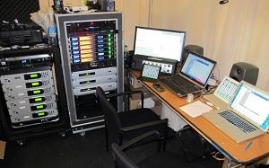 AMA Radio Row setup