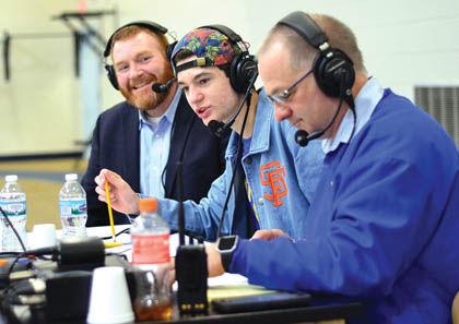 WNBI Basketball broadcast
