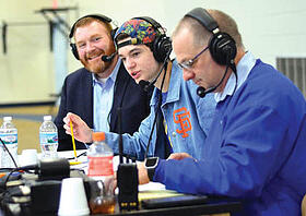 WNBI Basketball broadcast