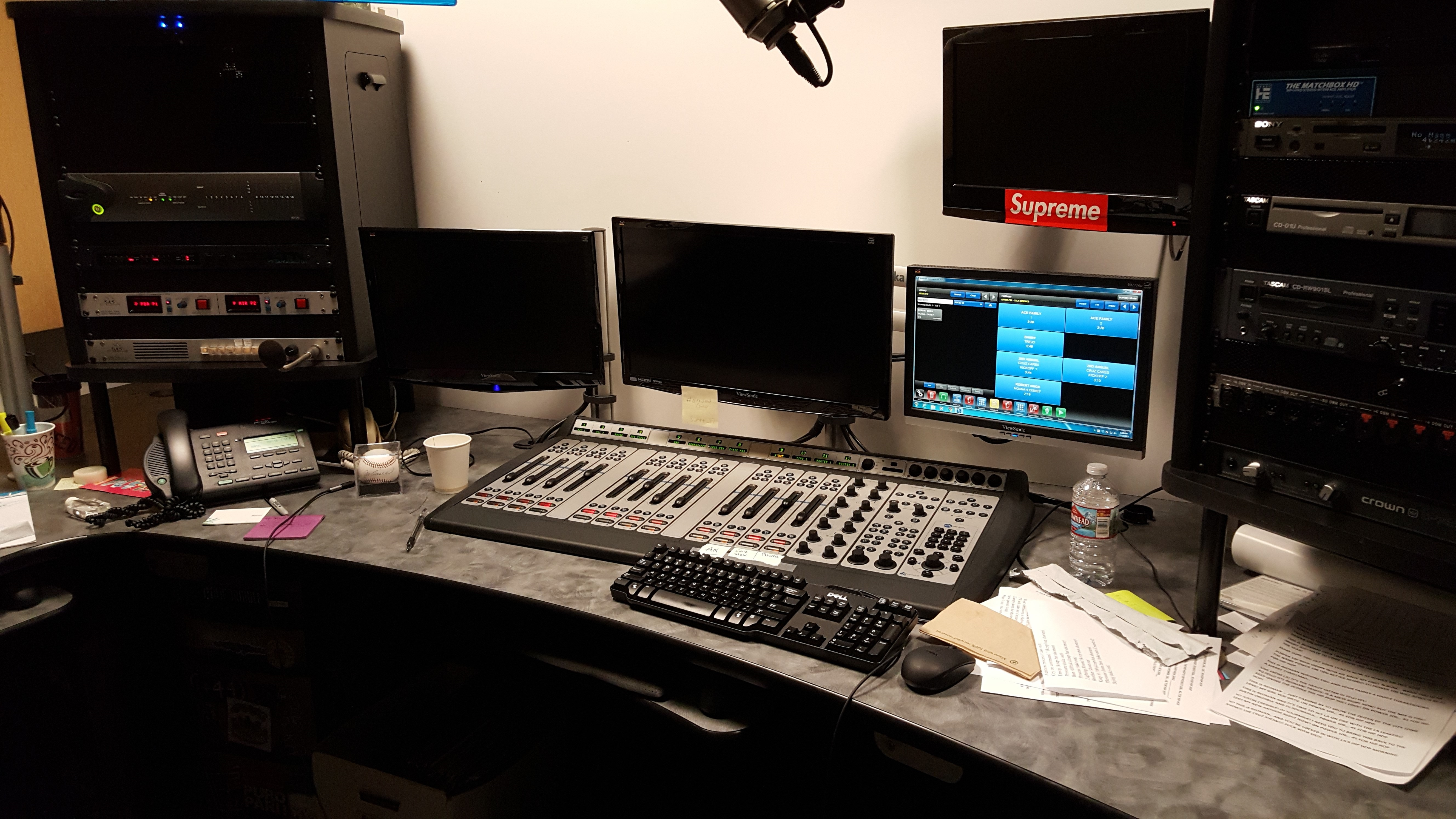 Power 106 production studio