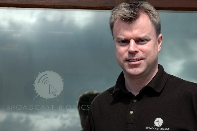 Dan McQuillin, Managing Director at Broadcast Bionics