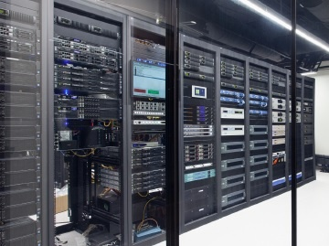 Rack Room full of IP Gear