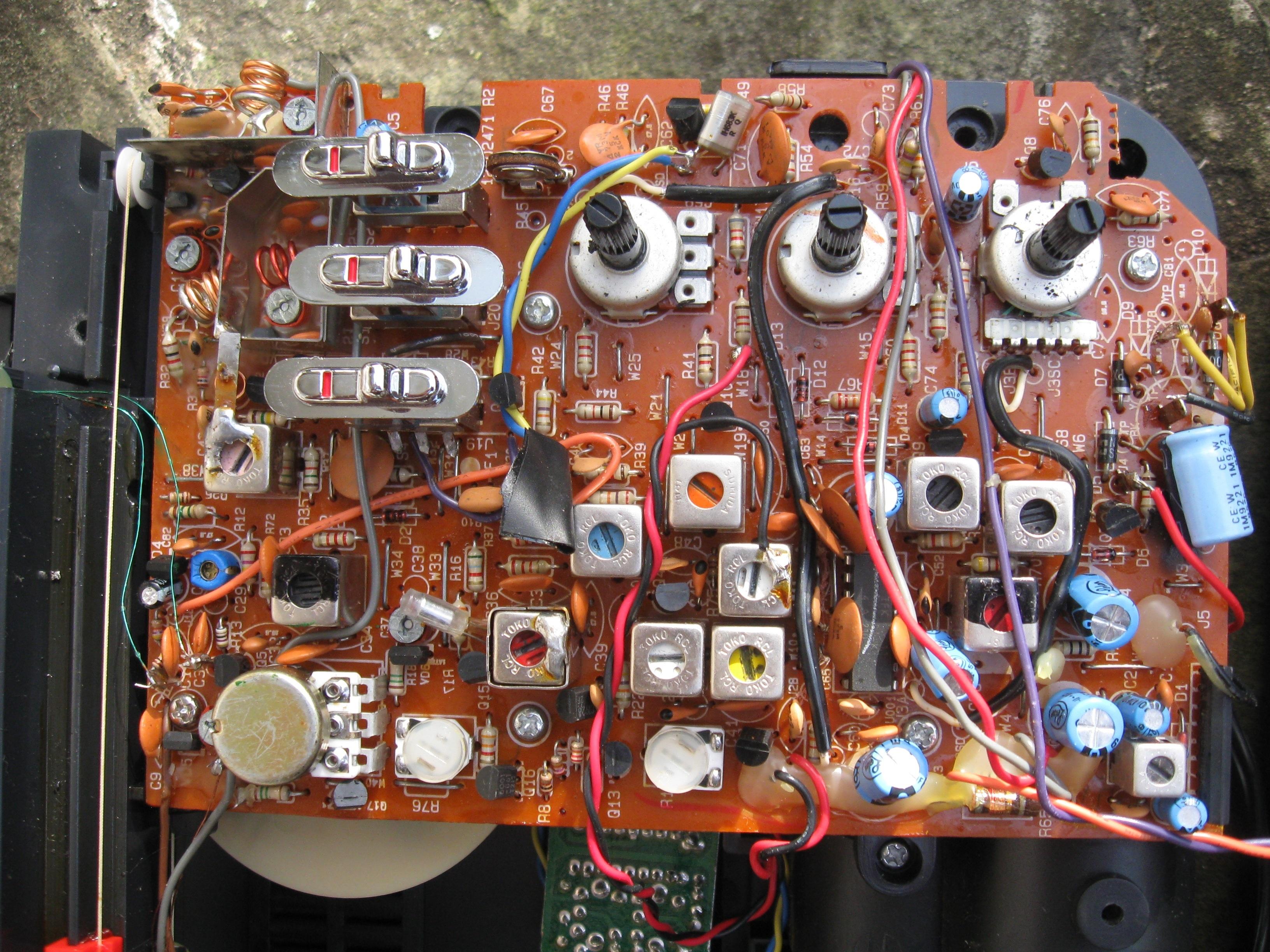 Superadio PC board