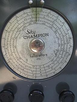 Found In The Attic Hallicrafters S 20 Sky Champion Receiver