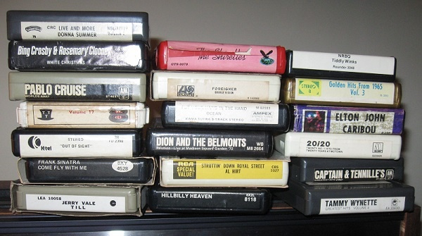 8-track tapes