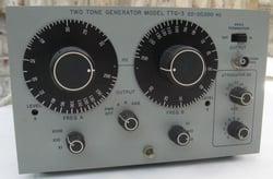 Singer TTG-3 Two-Tone Audio Generator
