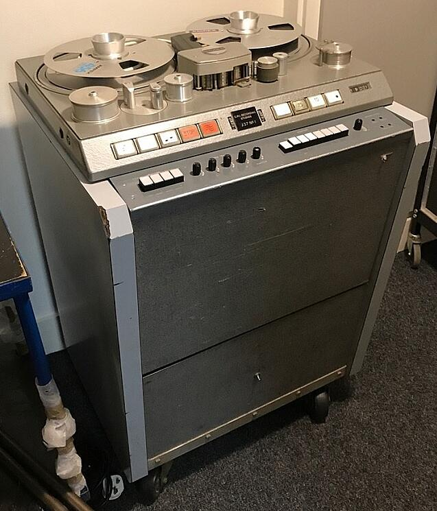Tape deck used in the recording of Sgt. Pepper's