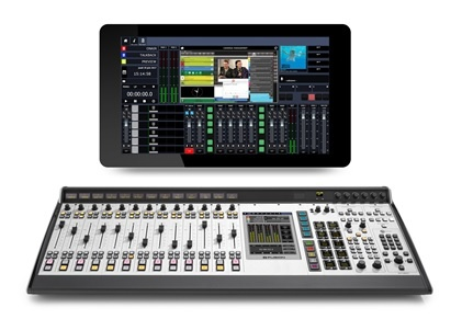 Axia IP-Tablet and Fusion console