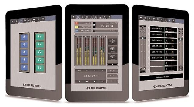 Axia IP-Tablet Virtual Radio Software