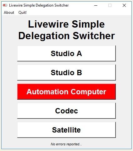 Livewire Simple Delegation Switcher
