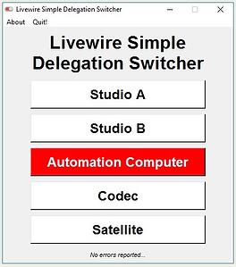 Livewire Simple Delegation Switcher