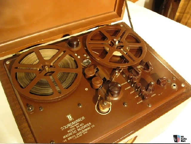 Brush BK-401 home tape machine (1947)