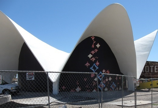 The Neon Museum - Entrance to the old LaConcha Motel