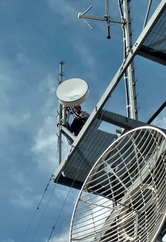 Climber on Tower
