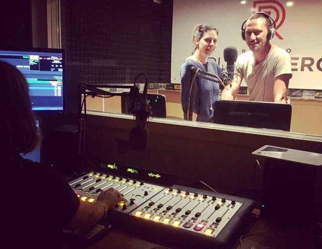 On the Air with Axia at Italy'z Radio Punto Zero