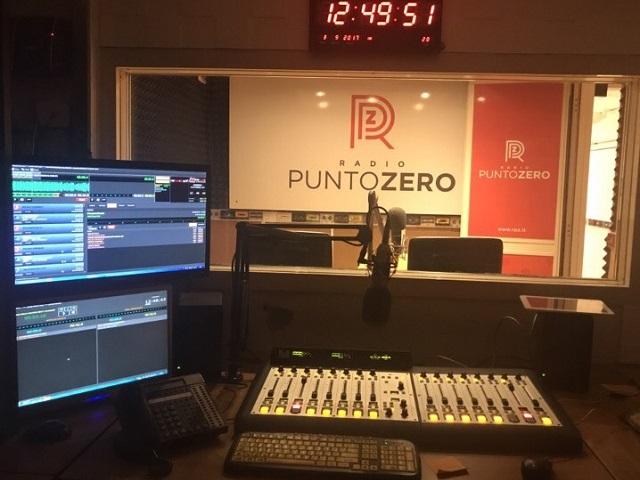 Radio Punto Zero studio