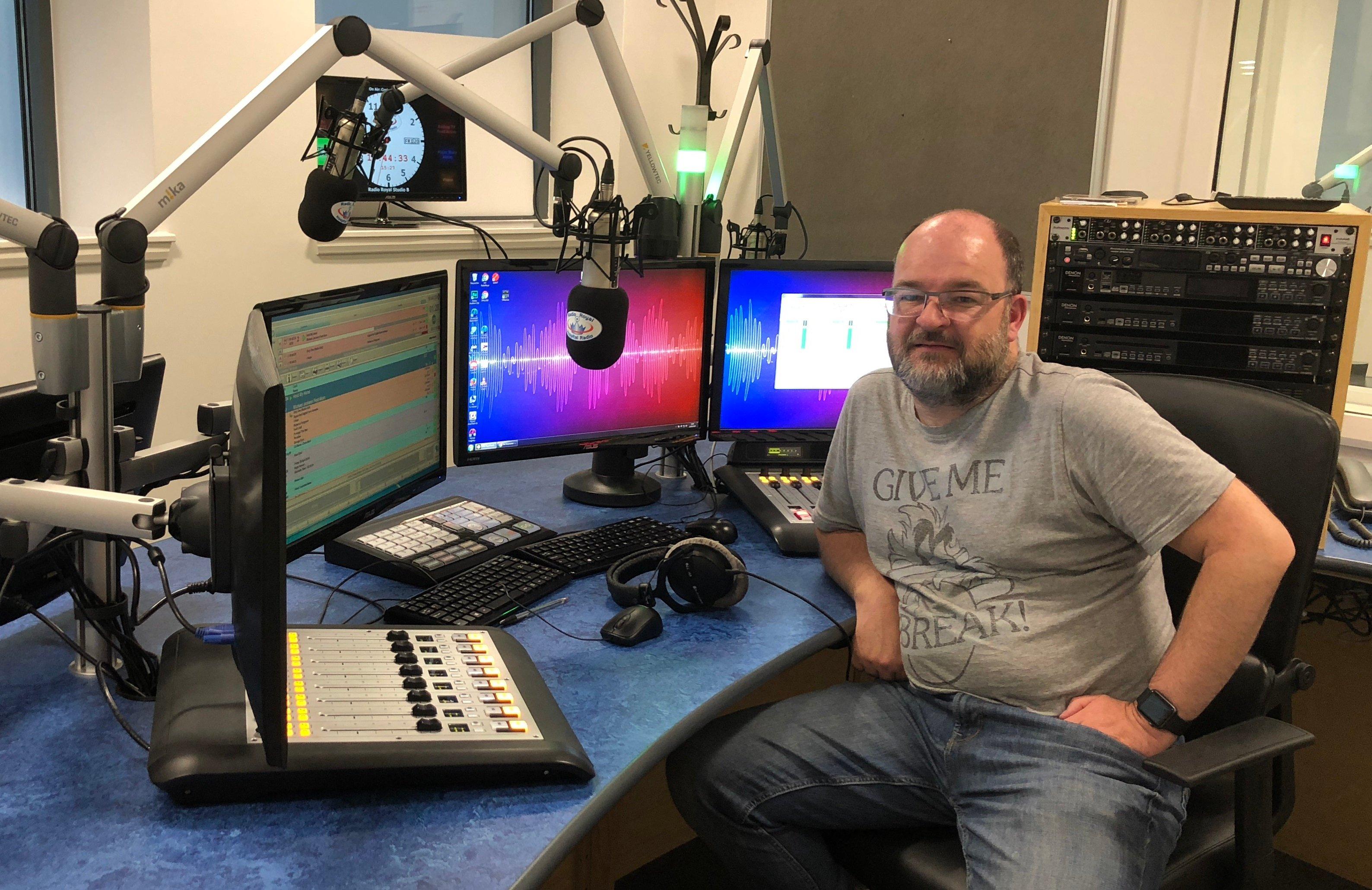 Craig in the Studio