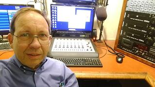 Ray Lenz with Axia iQ console