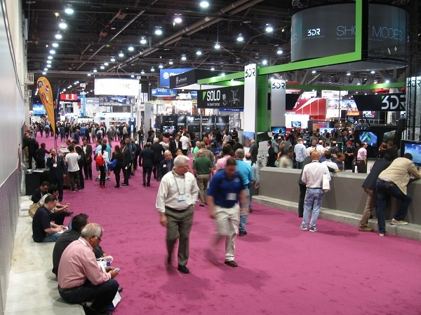 Crowds at NAB