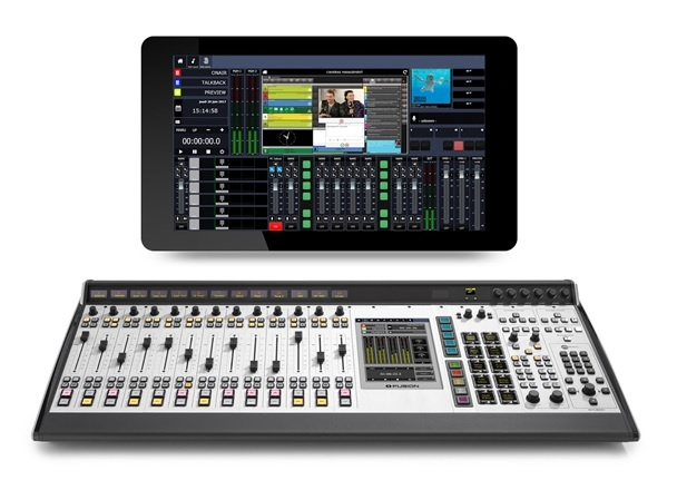 Experience Virtual Radio with the Axia IP-Tablet and Axia Fusion console
