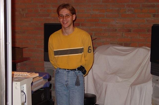 Jason in 2001