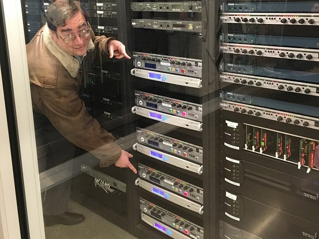 David Bialik with ZIPStream R/2s