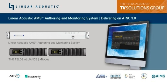 Linear Acoustic® AMS Authoring and Monitoring System