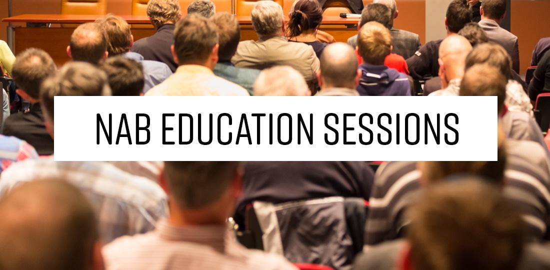 NAB Education Sessions