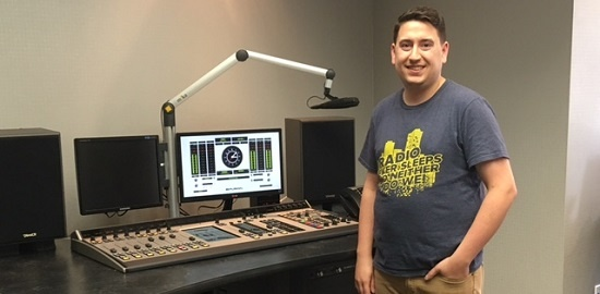 Telos Alliance Support Engineer Jake Alderman