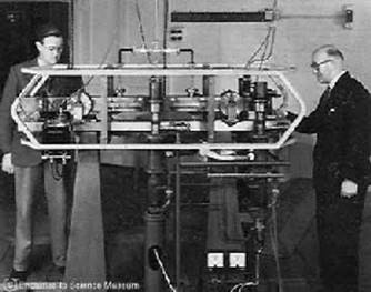 The 1955 Cesium Atomic Clock at the National Physical Laboratory in the UK was accurate to within one second in 300 years.