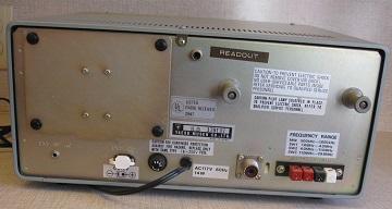 Rear of FRG-7