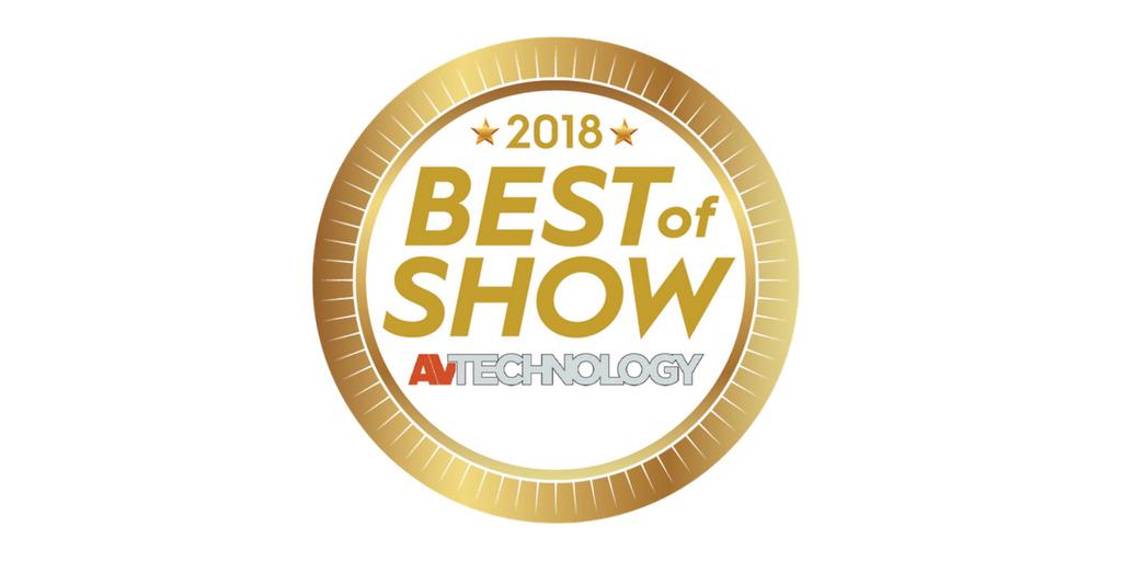InfoComm best of show